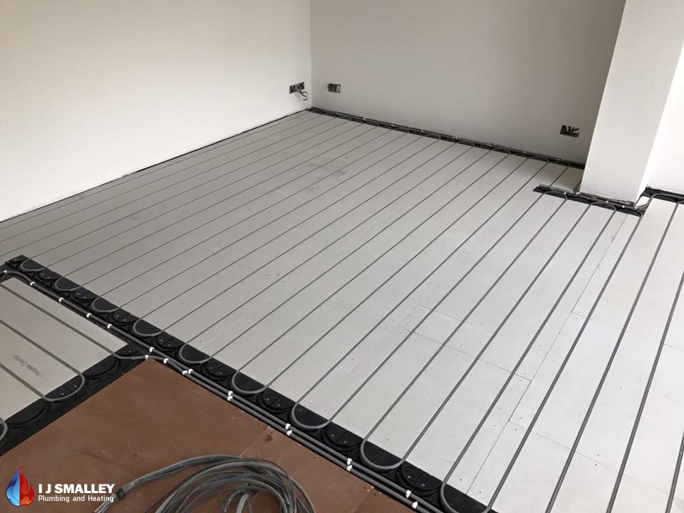 Full Coverage Overlay Underfloor Heating Installation Bolton