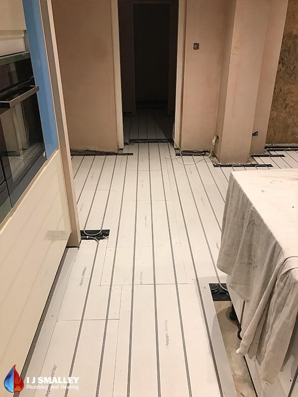Retrofit Overlay Underfloor Heating Installation Bolton