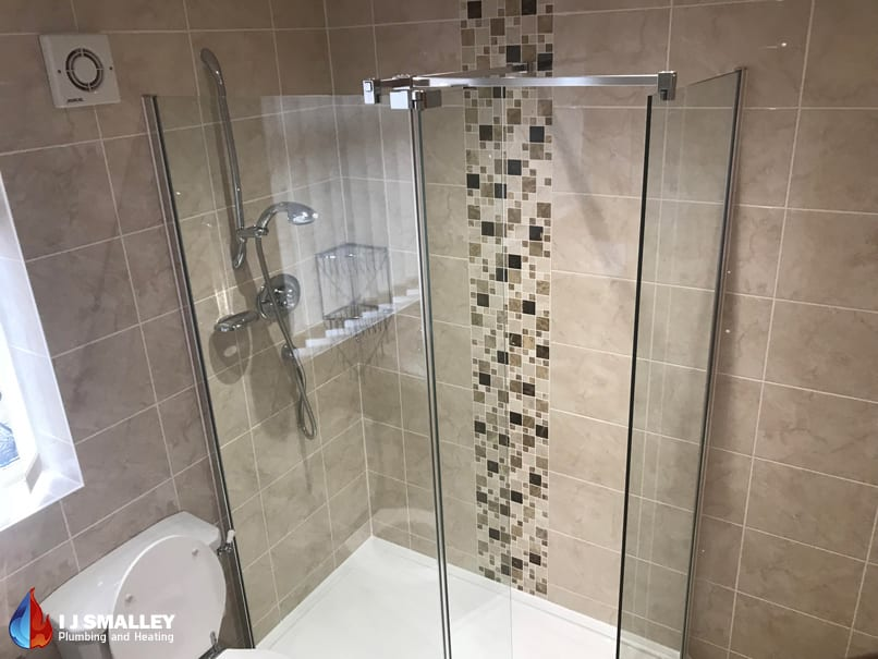 Traditional Walk In Shower Installation Bolton