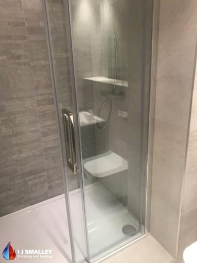 Sliding Shower Installation Bolton