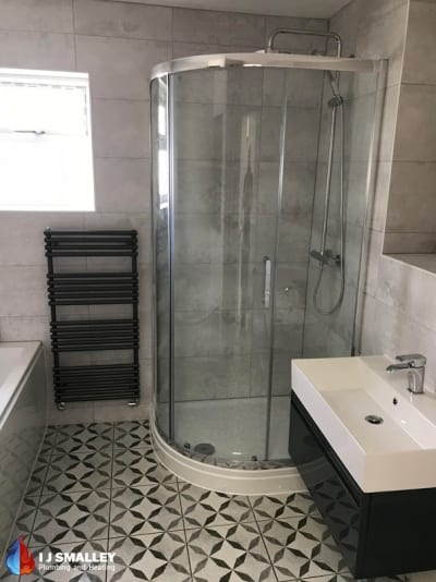 Traditional Shower & Sink Installation Bolton