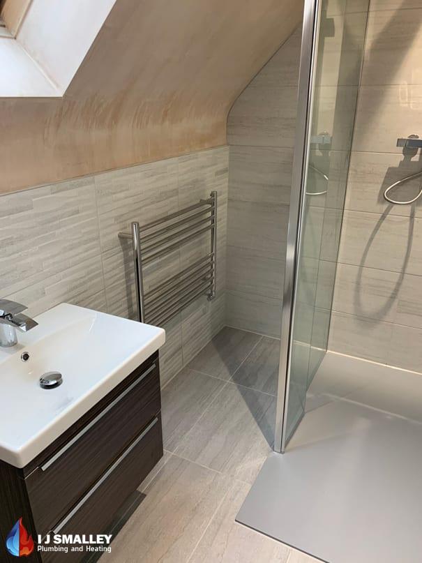 Limited Space Bathroom Installation Bolton