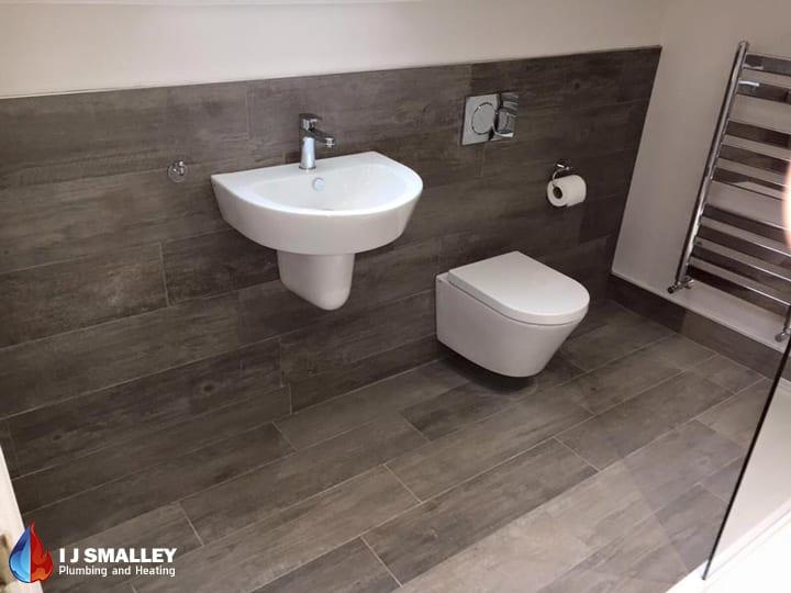 Upper Floor Bathroom Installation Bolton