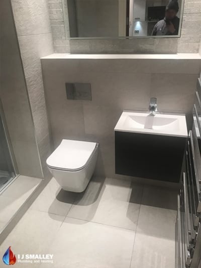 Small Toilet & Sink Installation Bolton