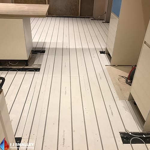 Kitchen Overlay Underfloor Heating Installation Bolton